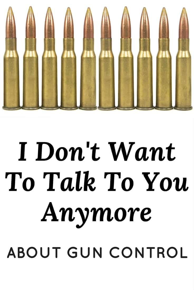 I don't want to talk to you anymore about gun control. Know why? Because I don't need to convince anyone that it's necessary. The vast majority of gun owners already agree. So why aren't they being heard?