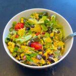 Mexican Salad: Like A Burrito, Except It's A Salad