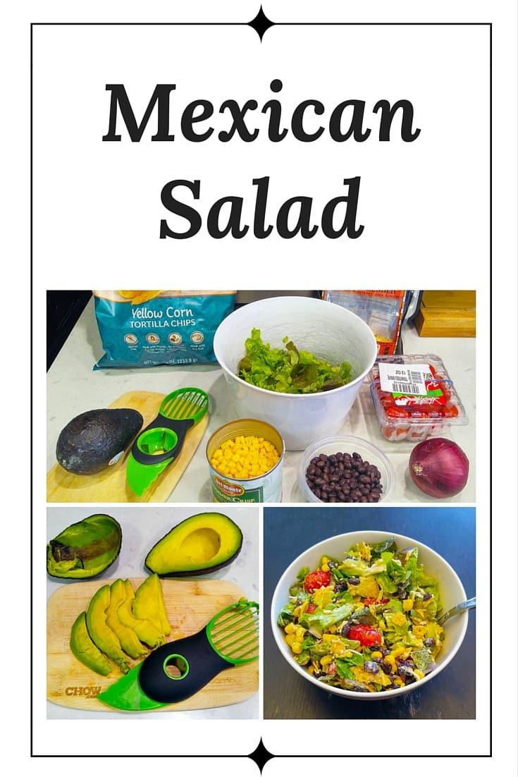 This is one of my absolute favorite kinds of salads. This vegetarian recipe is basically everything I would put into a burrito, except the rice. Pack it into a mason jar for an extra-special lunch salad. So delicious!