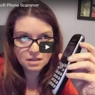Fun with a Microsoft Phone Scammer