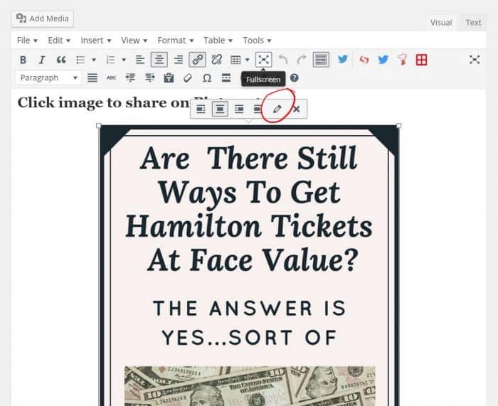 Edit image screenshot