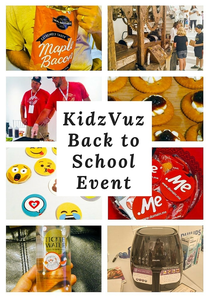 There were some really great products at the KidzVuz Back to School event. Delicious food, cute products for kids, and even a kitchen gadget!
