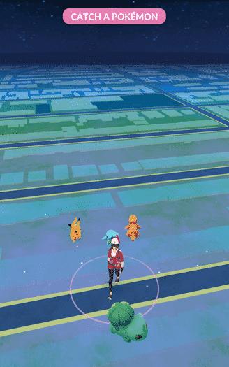 Pokemon Go - first pokemon choices with Pikachu (2)