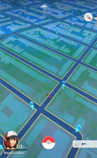 Pokemon Go - pokestops not in range