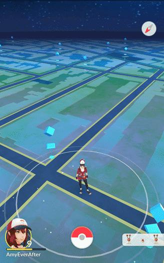 Pokemon Go - your range