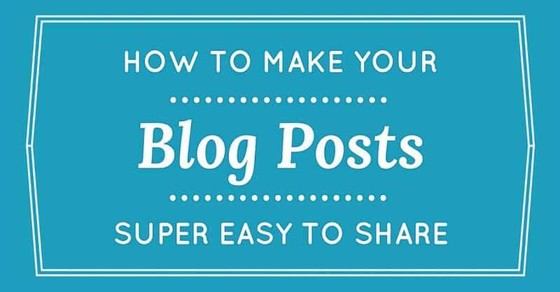 Social Media Sharing Strategy - Facebook