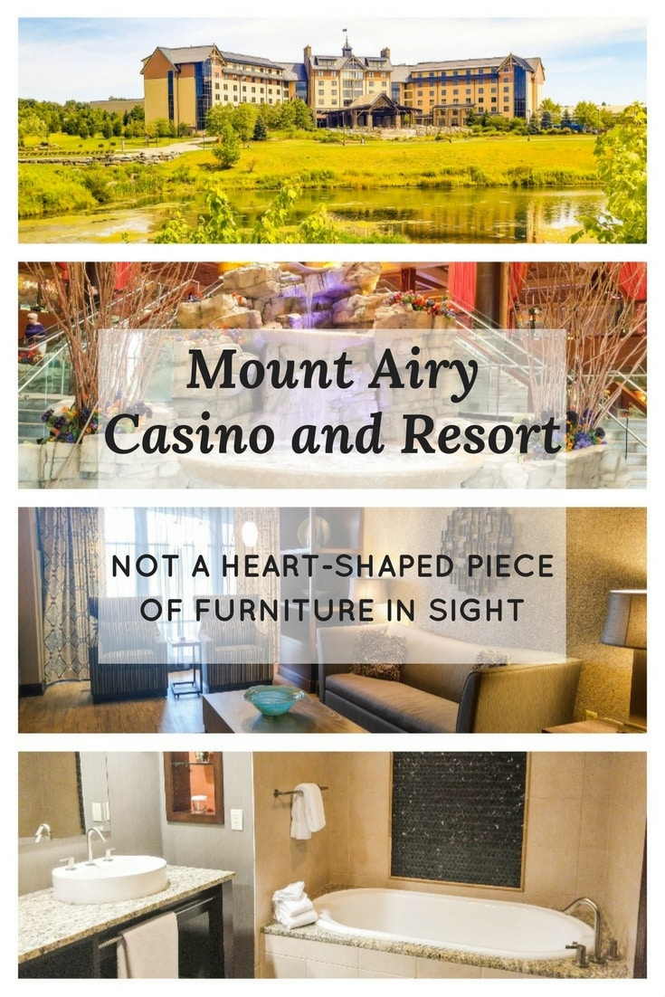 Mount Airy Casino and Resort is NOT the Mount Airy Lodge you're remembering from those cheesy travel commercials in the 80s. It's a tasteful hotel with great food, an exciting casino, a spa, golf course, and much more.