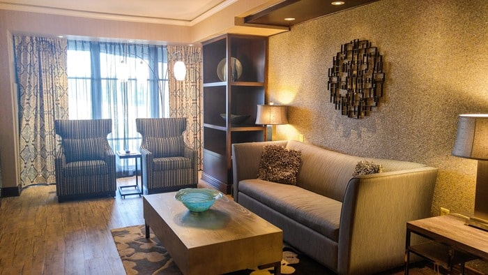 Mount Airy Casino and Resort King Suite Living Room