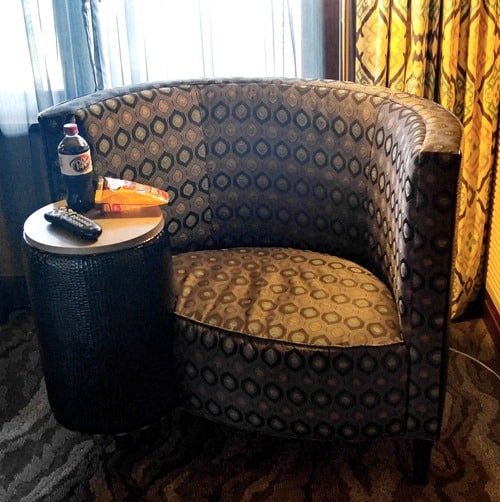 Mount Airy Casino and Resort King Suite chair