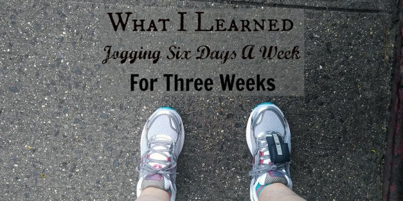 So what happens when an overweight, out of shape woman jogs 6 days a week for 3 weeks, using a couch to 5K program? #C25K #exercise #jogging