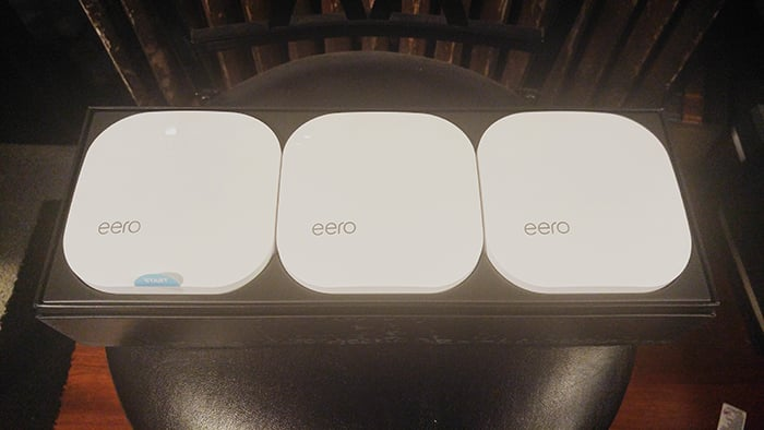 eero Home WiFi System - in the box