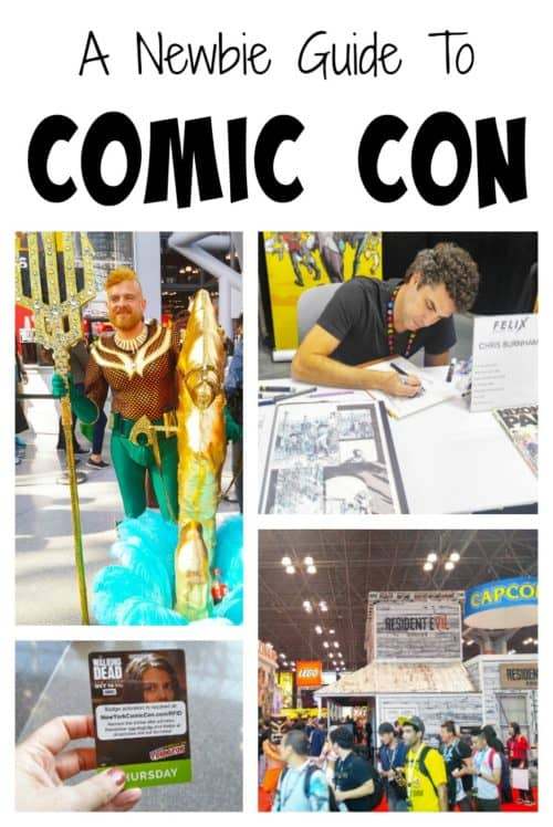 Is this your first time going to Comic Con in New York City? There are a lot of moving parts, a lot of great things to see and do, and lots of rules. I've got some great tips to help you make the most out of it!