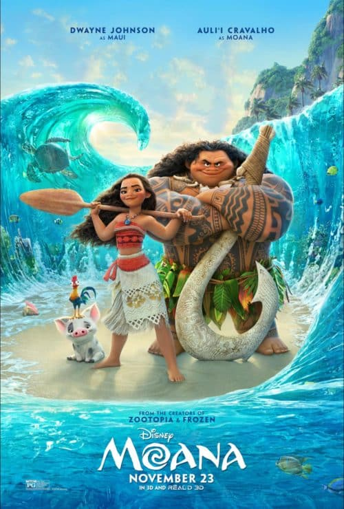 I trekked over to the Javits Center to see some amazing scenes from Disney's Moana, as well as hear animator Jorge Ruiz and composer Lin-Manuel Miranda talk about the making of the movie.