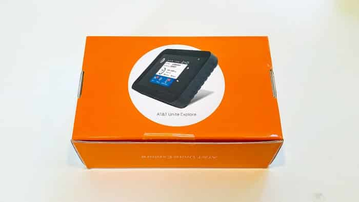 Netgear WiFi Hotspot - the box