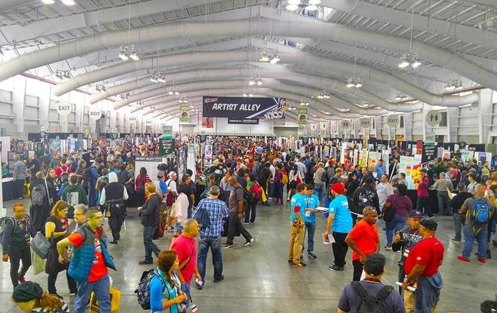 New York Comic Con - Artist Alley