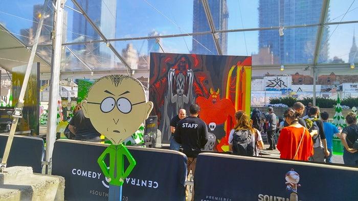 New York Comic Con - South Park photo opp