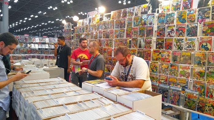 New York Comic Con - comics for sale