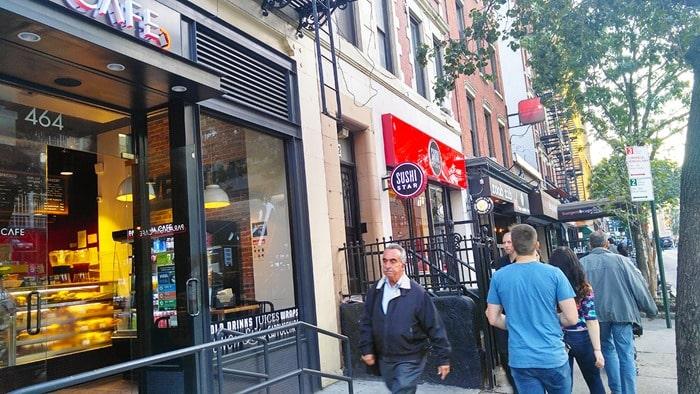 New York Comic Con - restaurants on Ninth Avenue