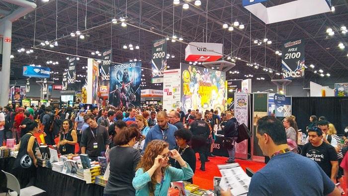 New York Comic Con - the show floor