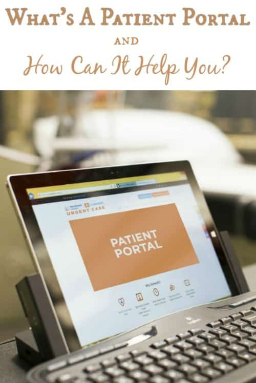 I'm a nightmare when it comes to paperwork. I was so happy to find out that this urgent care center has a secure patient portal so that you can access your paperwork online!