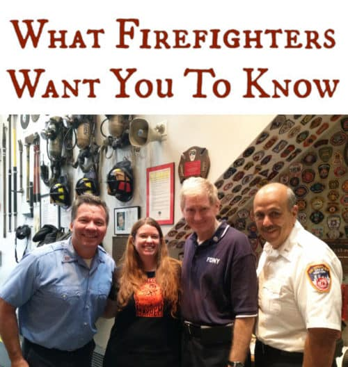What can you do to help keep your family safe from a fire in your home? I talked with three NYC firefighters to find out what they want us to know.