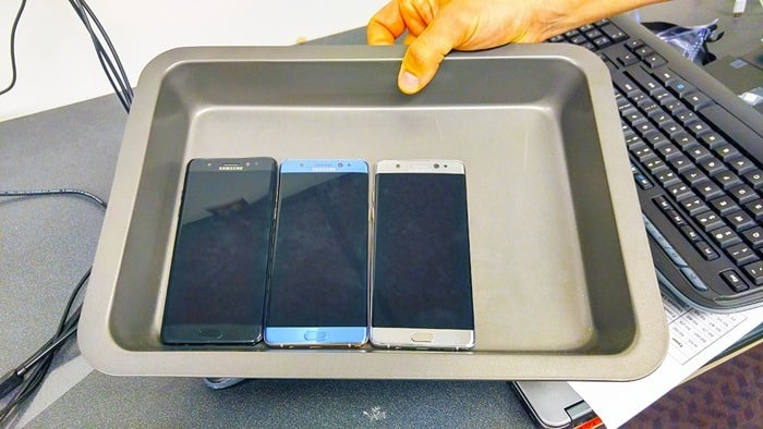 Consumer Reports Ambassadors HQ Tour 2016 - how the Galaxy Note 7s are stored