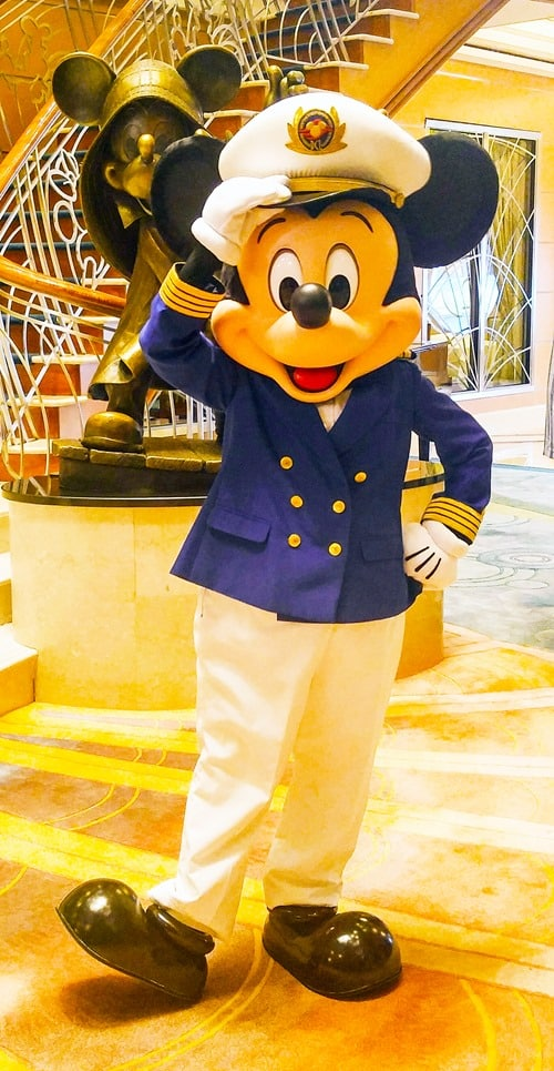Disney Cruise NYC - Mickey Mouse on the Disney Magic