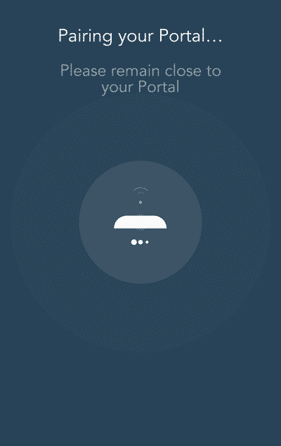 Portal Router pairing