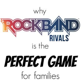 Why Rock Band Rivals is The Best Family Video Game