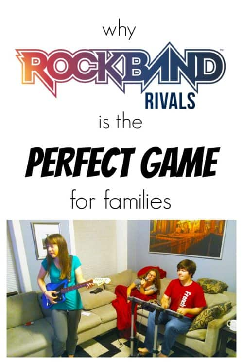 Rock Band has always been the perfect game for entire families to play, because each player can play at a different level and still fully participate in the game. Rock Band Rivals, an expansion of last year's Rock Band 4 game, takes things to the next level by letting you team up with other players online to battle other crews. Read on to find out why Rock Band Rivals makes the perfect holiday family gift!