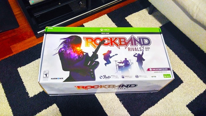 Rock Band Rivals - Band Kit for Xbox One in box