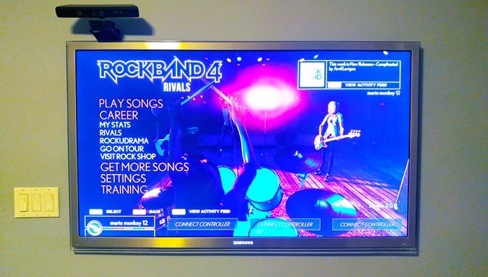 Rock Band Rivals - Rock Band 4 Rivals screen