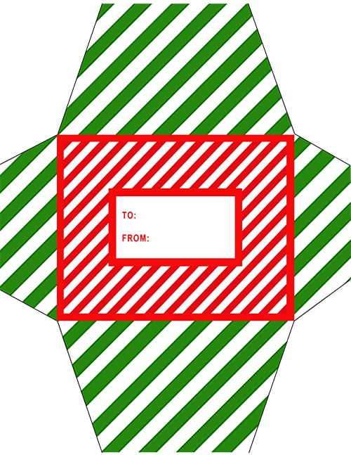 Last Minute Holiday Gifts - Free Printable Amazon Print-At-Home Card Envelope