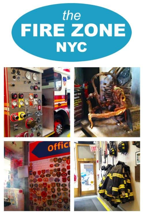 If you're in NYC, there's a place in Rockefeller Center that's both fun and educational called The Fire Zone. Run by the FDNY, it's a great way to start a conversation with your kids about fire safety!
