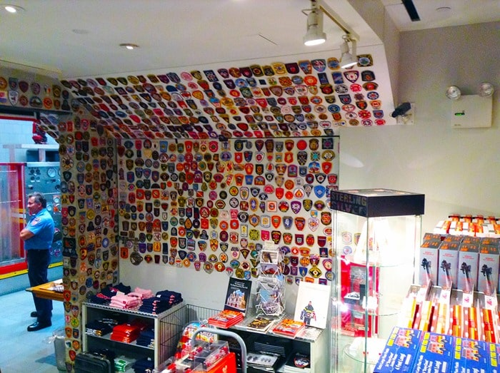 FDNY Fire Zone NYC - Patches in gift shop