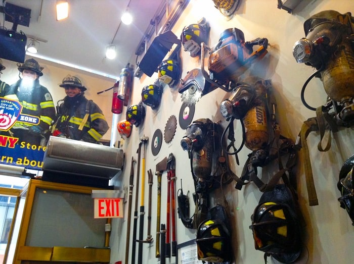 FDNY Fire Zone NYC - equipment display