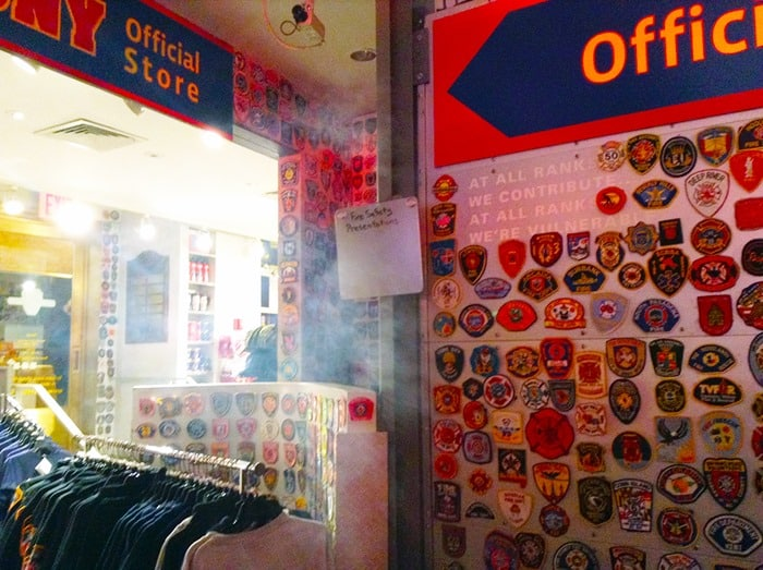 FDNY Fire Zone NYC - fake smoke escaping into the gift shop