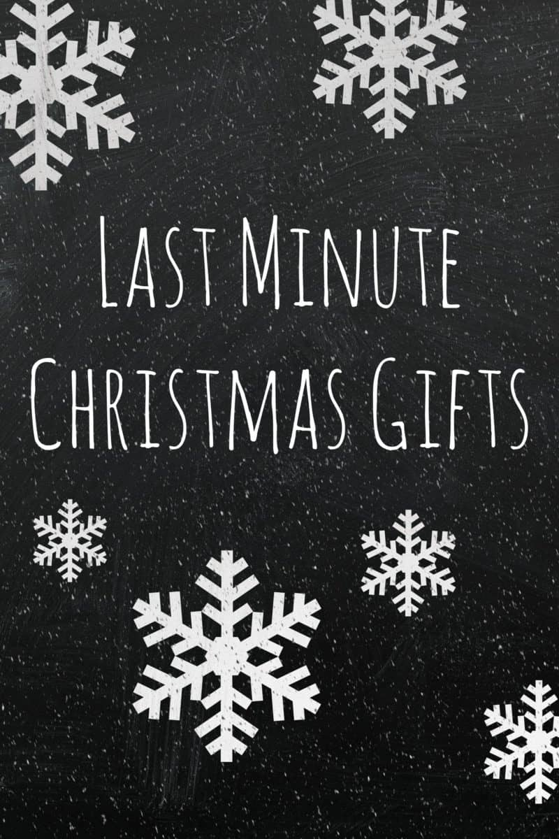 Did you wait too long to order gifts? Don't have time to run out to the store? Here are a bunch of Christmas gift ideas that can be printed at home or emailed!