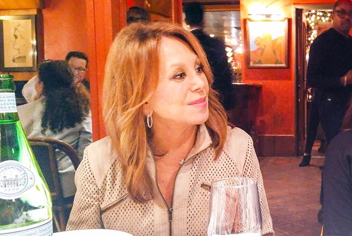 Lunch with Marlo Thomas at Trattoria Dell'Arte in New York City