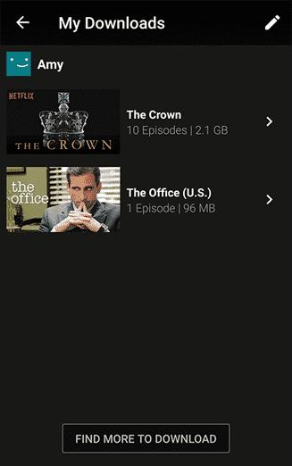 Netflix Downloads - My Downloads
