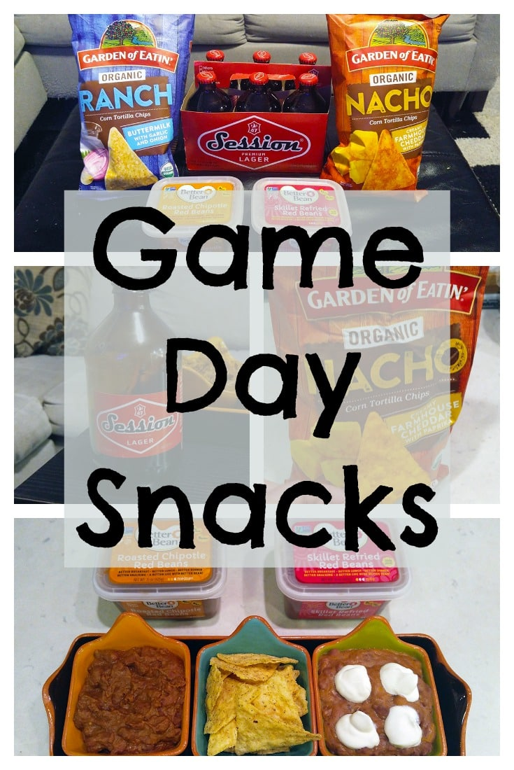 Are you looking for some delicious new game day snacks? I've got some great ones for you! Garden of Eatin' Organic Corn Tortilla Chips (Nacho and Ranch flavors) are delicious chips perfect for dipping. Better Bean Co Dips are fresh beans made in small batches that can be eaten right out of the tub, heated and mixed with salsa, cheese, avocado, or sour cream for a quick dip, or used in recipes for an easier alternative to dried beans and a tastier alternative to canned beans. And Full Sail Brewery Session Premium Lager is an award-winning beer in a cute, funky bottle.