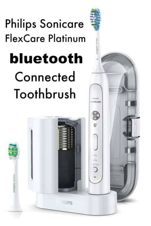 Do you want to visualize just how clean your mouth is getting? This bluetooth connected toothbrush from Philips Sonicare shows you exactly where you're brushing enough, tells you when you're brushing too hard, and tracks your progress as you go for goals like fresher breath or whiter teeth.