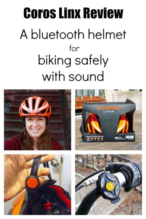 Biking with headphones in can be dangerous, so a company named Coros has come up with a safe way to listen to music, podcasts, and voice navigation while biking with this ingenious Bluetooth helmet. It uses bone conduction technology to transmit sound through your cheekbones, leaving your ears completely free!