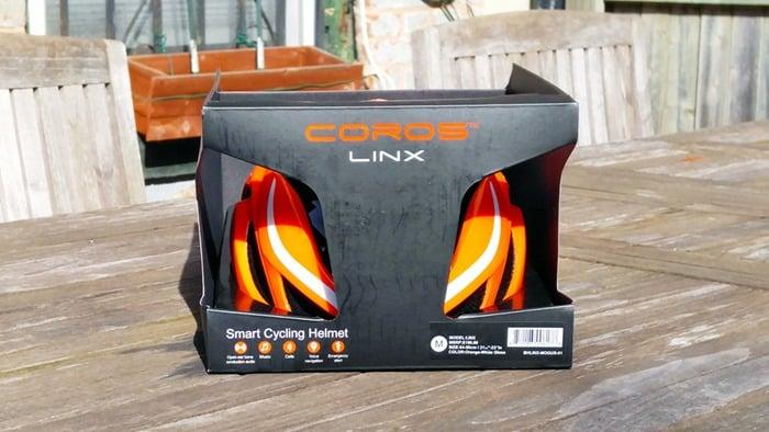 Coros Linx Bluetooth Helmet in box