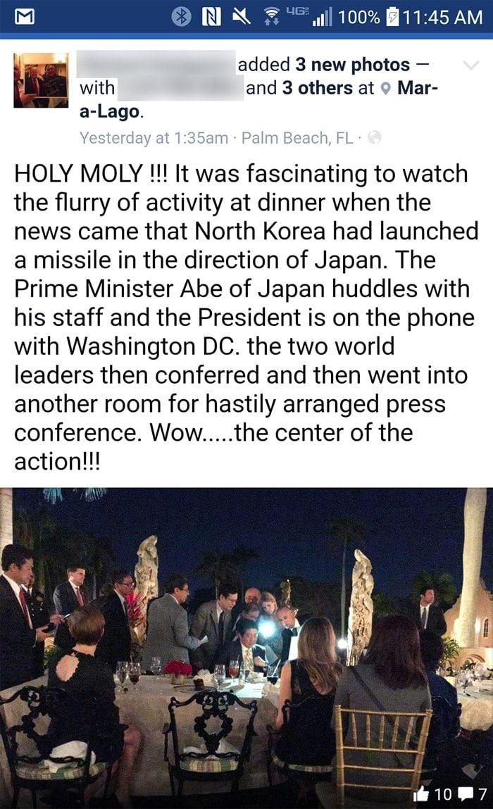 Holy Moly, Japanese Prime Minister Shinzo Abe