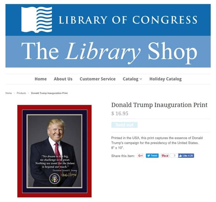 Library of Congress page
