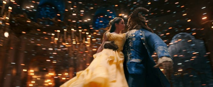 Beauty and the Beast - Belle and The Beast dancing