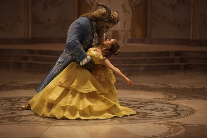Beauty and the Beast - The Beast and Belle Dancing