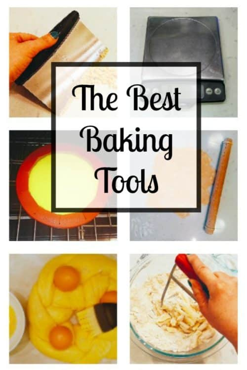 I bake a lot--too much, probably--so these baking tools have gotten quite a workout in my kitchen over the years. Some of them I use daily, most at least weekly. They durable, easy to clean, and don't cost a fortune.