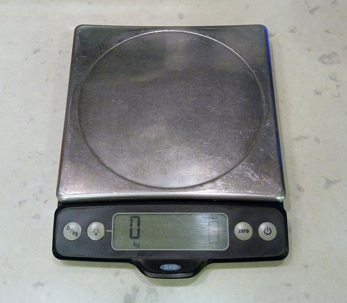 Favorite baking tools - food scale